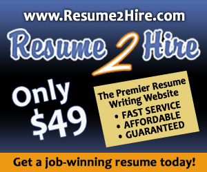 Right Foot Resume - Professional Los Angeles Resume Writing Services